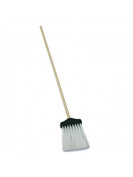Kerb Curb Flick Swish Lawn Narrow Gutter Broom Brush with Handle