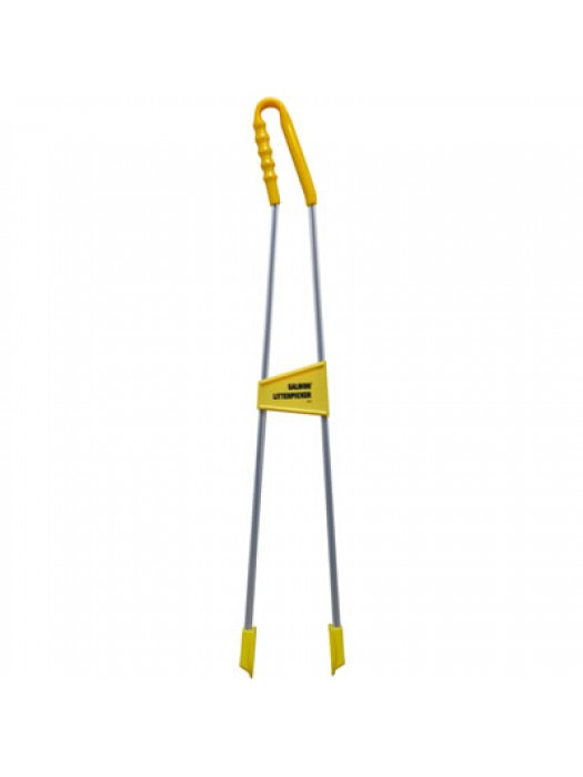 "Tong Reacher Style Curved Handle Litter Picker Salmon Brand LP6 LP33 35"" 890mm"