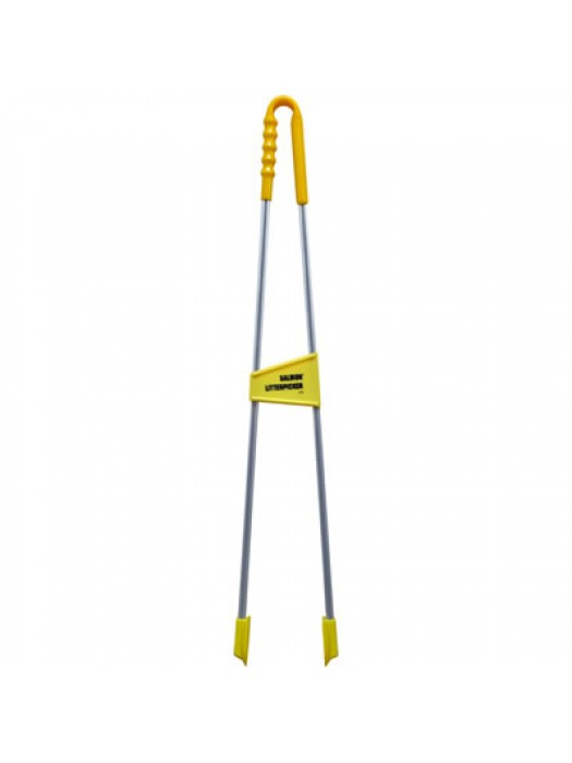 "Tong Reacher Style Straight Handle Litter Picker Hill Brush LP34 35"" 890mm"