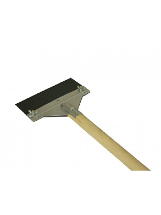 Floor Scraper with 5Ft Wooden Long Handle